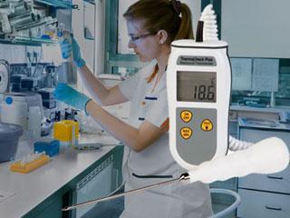 thermomètre professionnel pour laboratoire